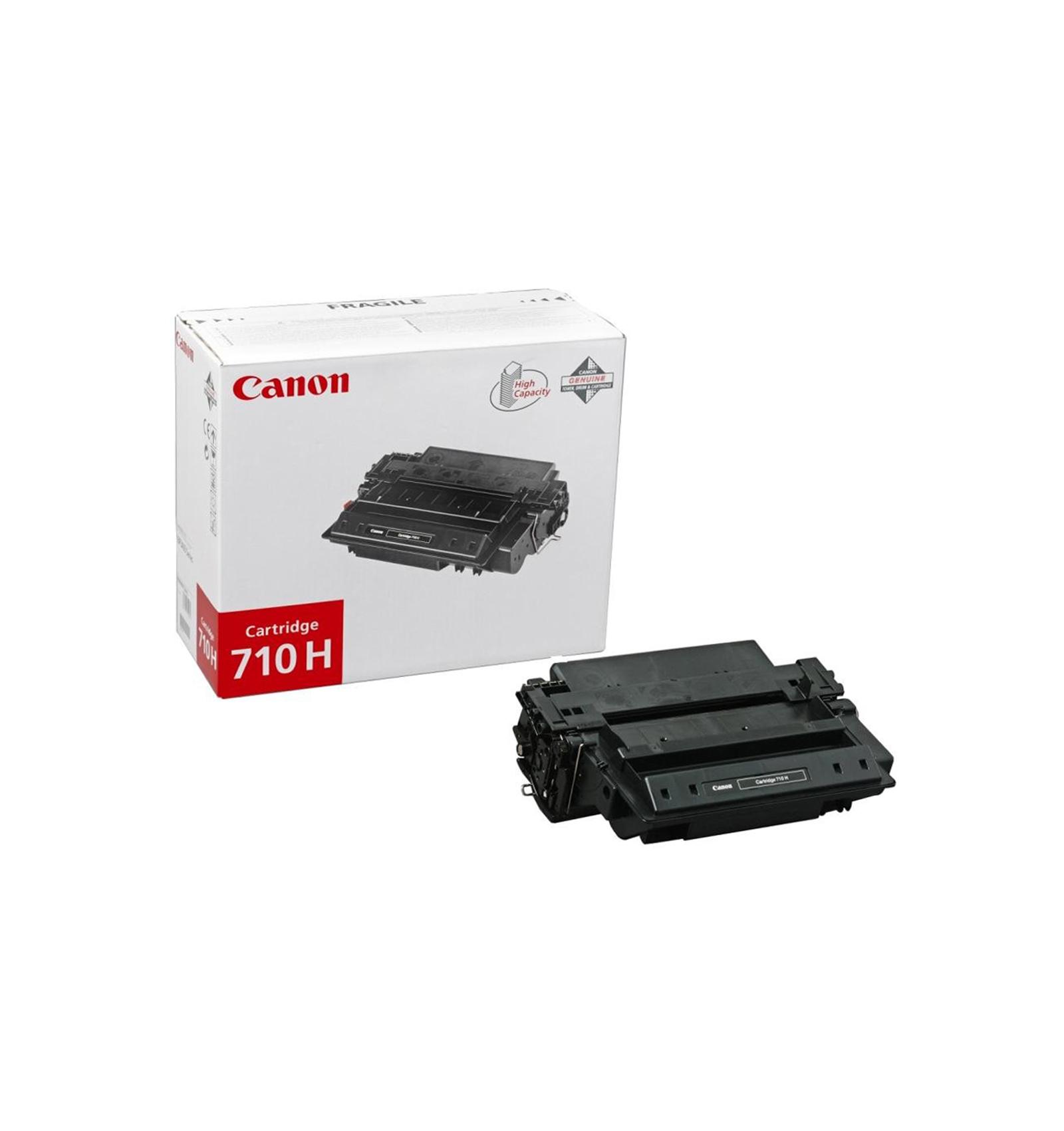 Заправка тонером картриджа Canon 710h для LBP-3460