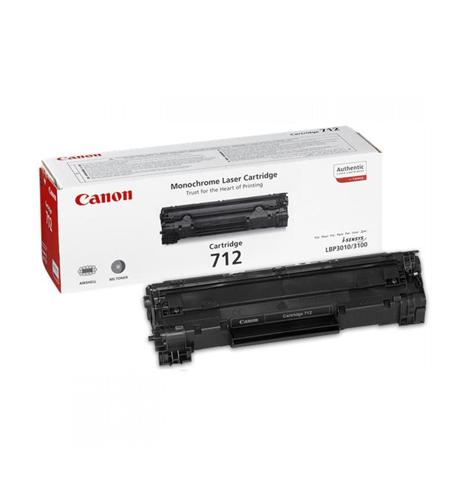 Заправка тонером картриджа Canon 712 для LBP 3010/3100