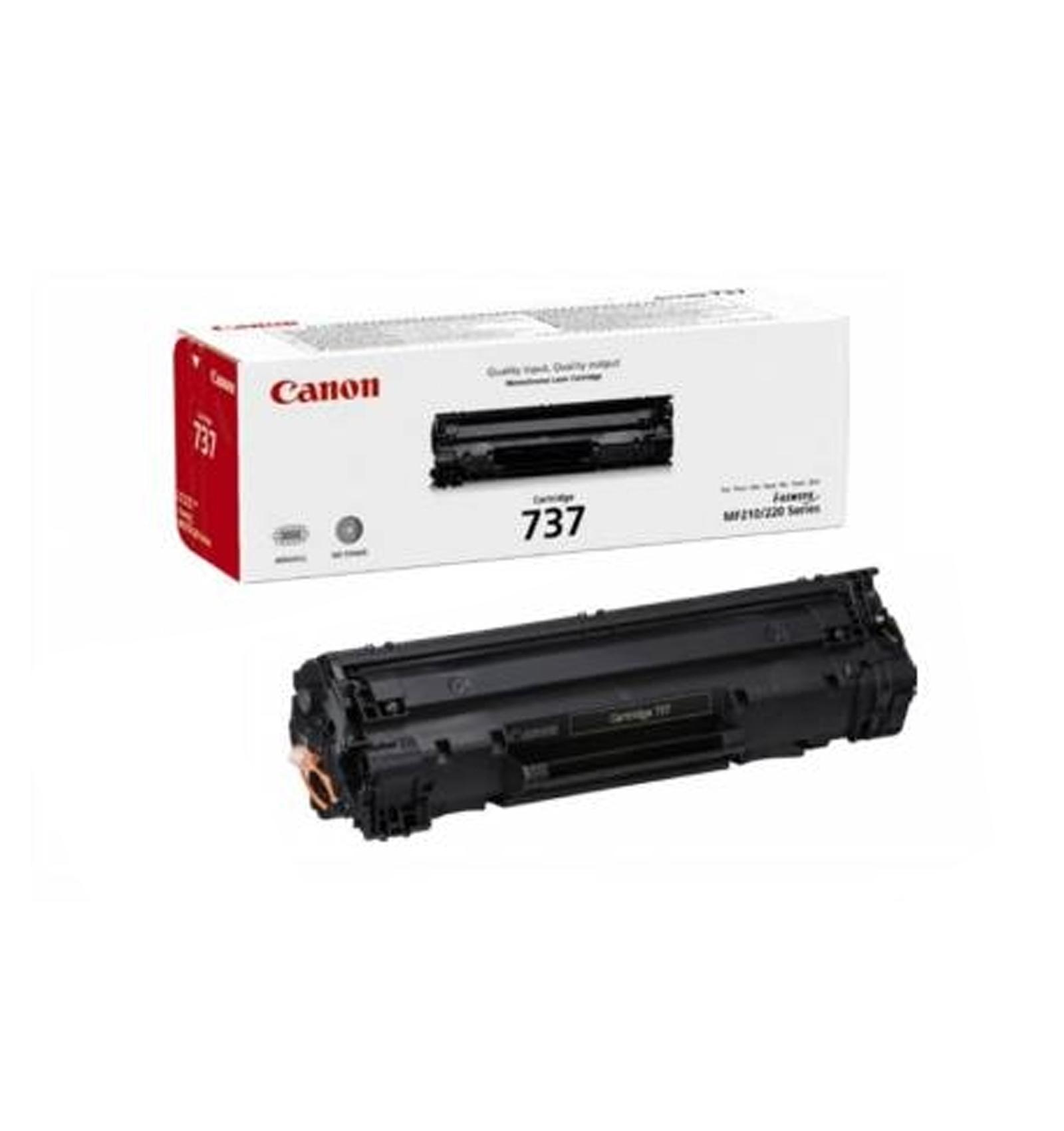 Заправка тонером картриджа Canon 737 для MF211/212/216/217/226/229