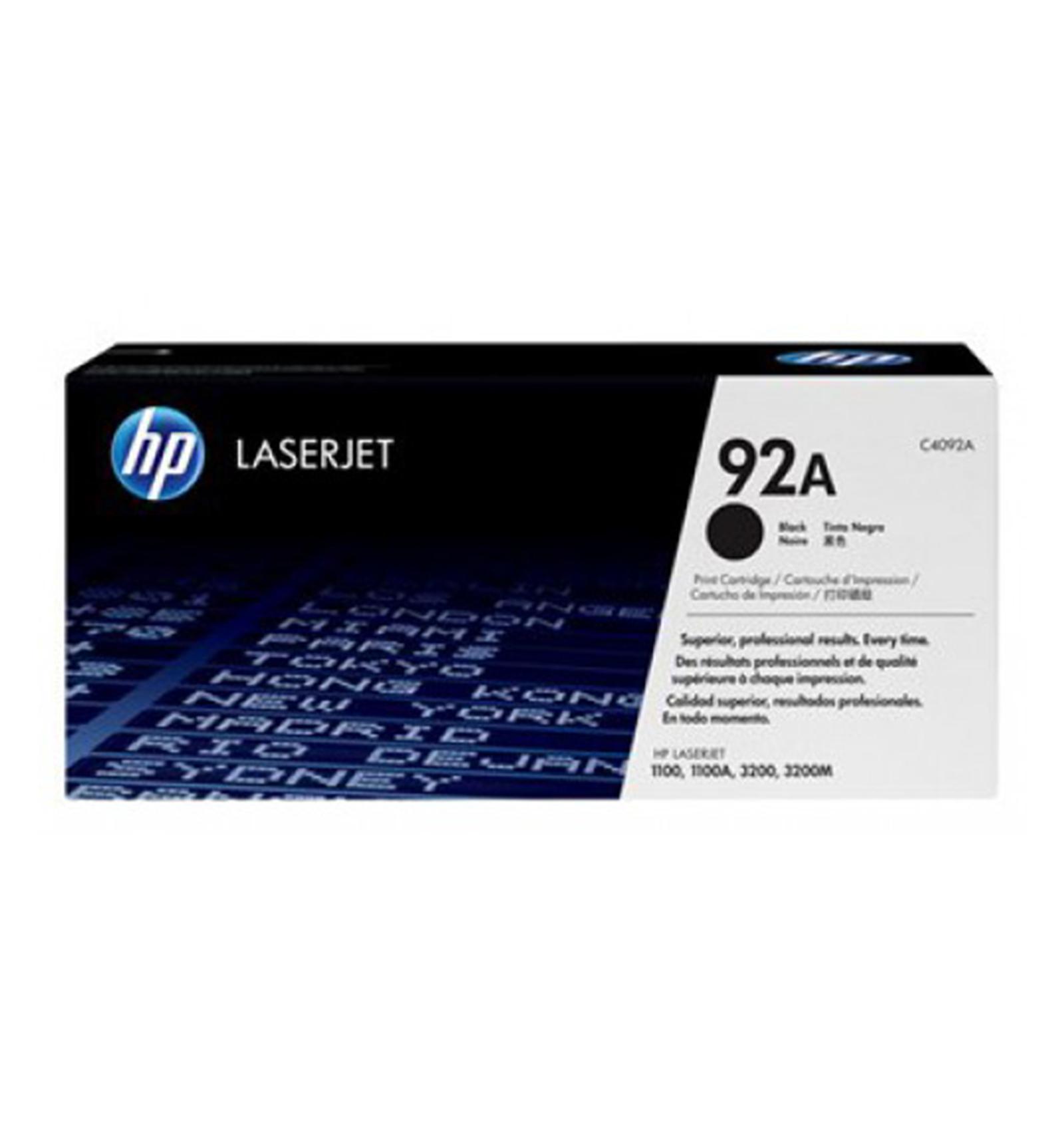 Заправка картриджей HP C4092A (92A) для LaserJet 1100/3200/3220