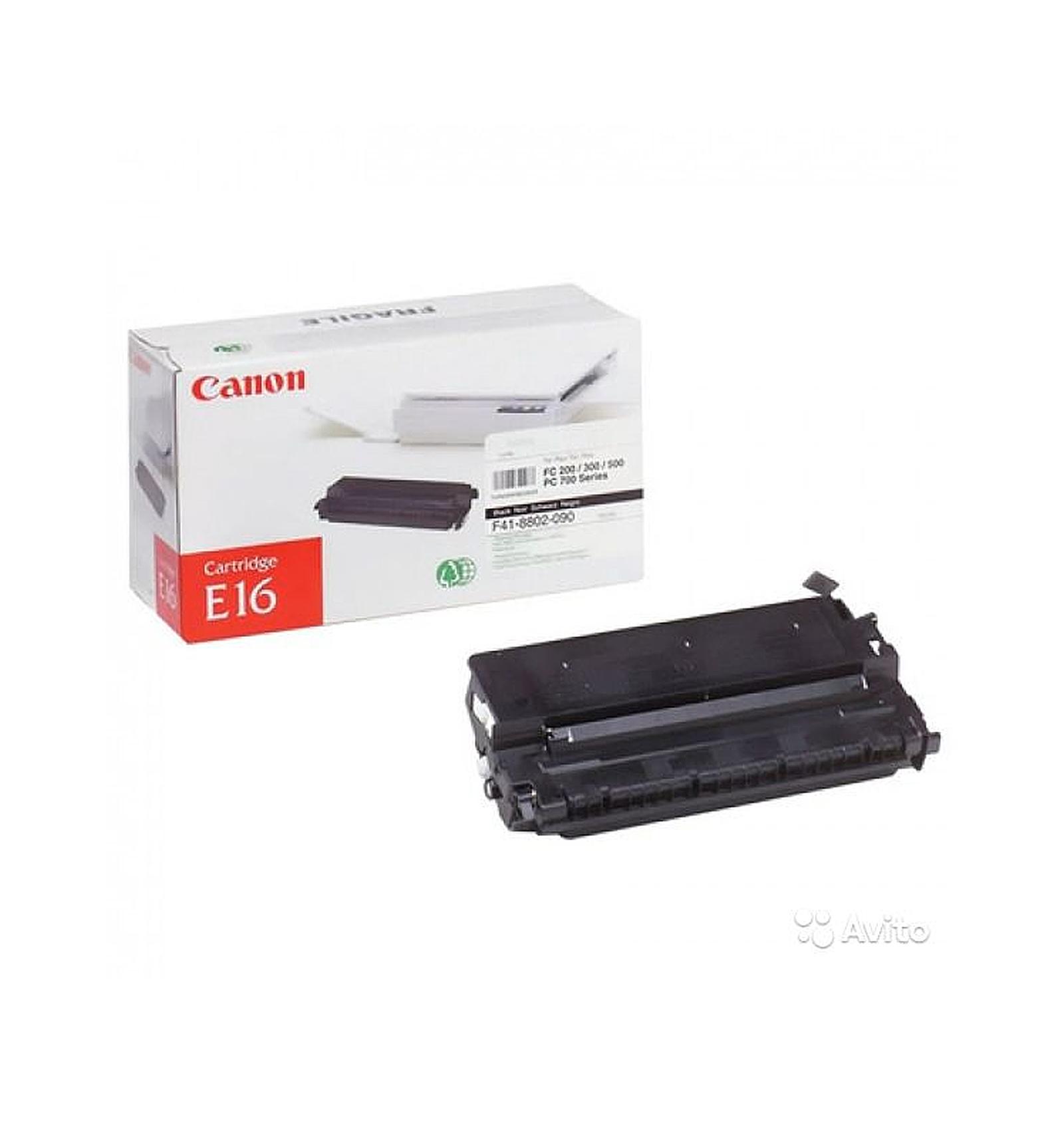 Заправка тонером картриджа Canon E-16 для FC-2xx/3xx/530/108/208/PC-7xx/PC-8xx