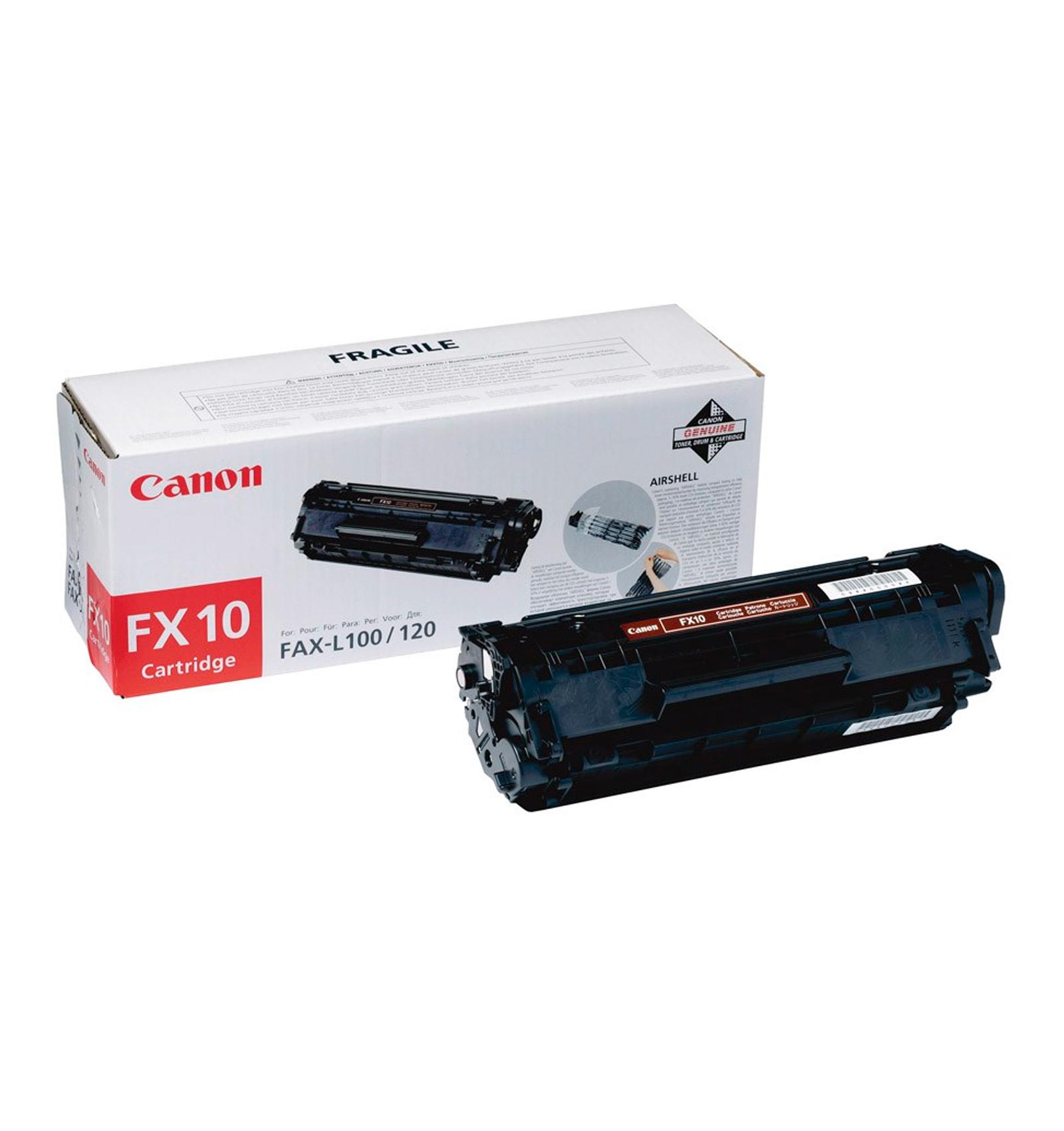 Заправка тонером картриджа Canon FX-10 для FAX L100/L120, i-SENSYS MF4120 MF4140/MF4150