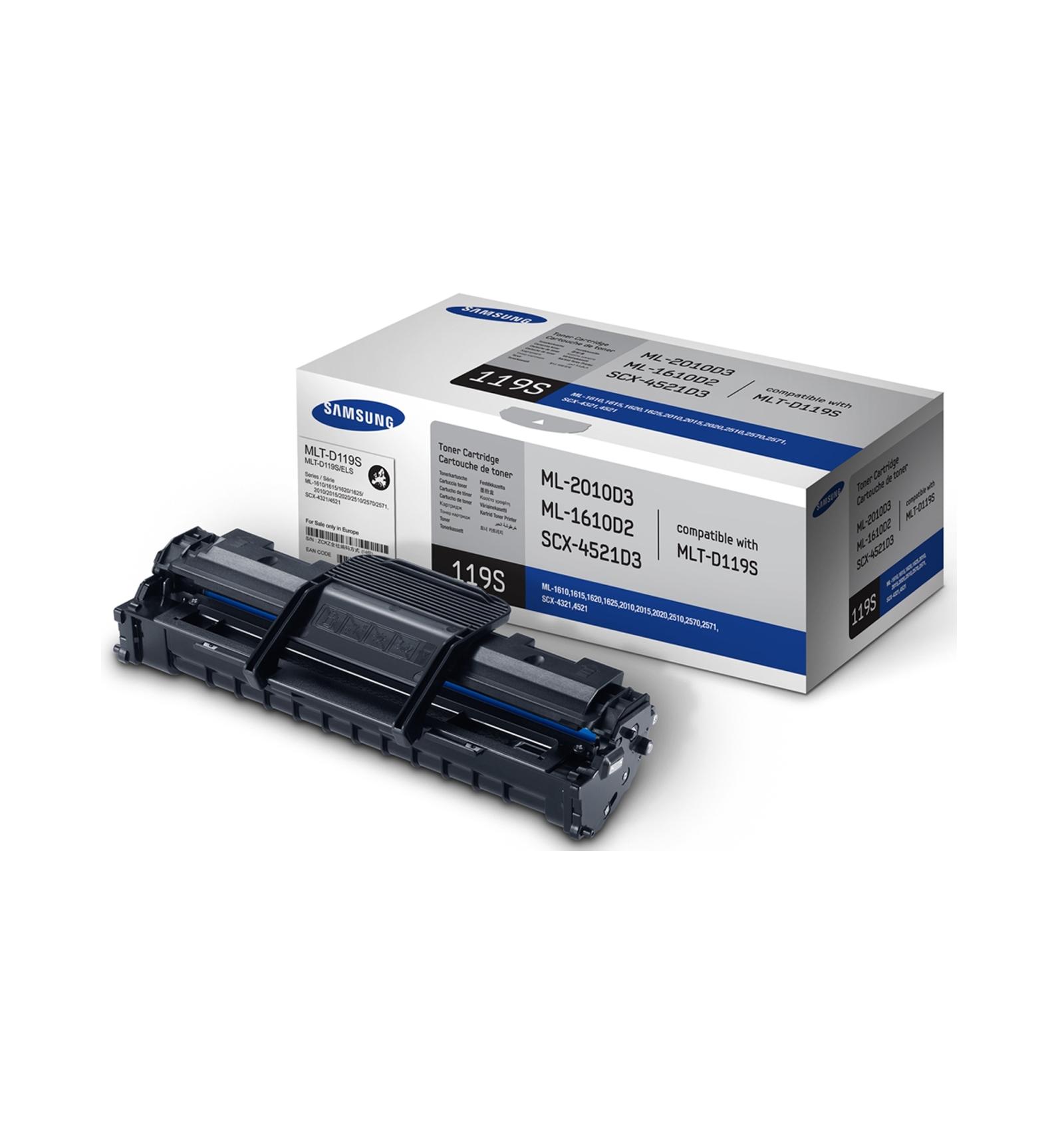 Заправка картриджей Samsung MLT-D119S для ML-1610/1615/1620/1625/2010/2015/2020/2510/ 2570/2571/SCX-4321/4521