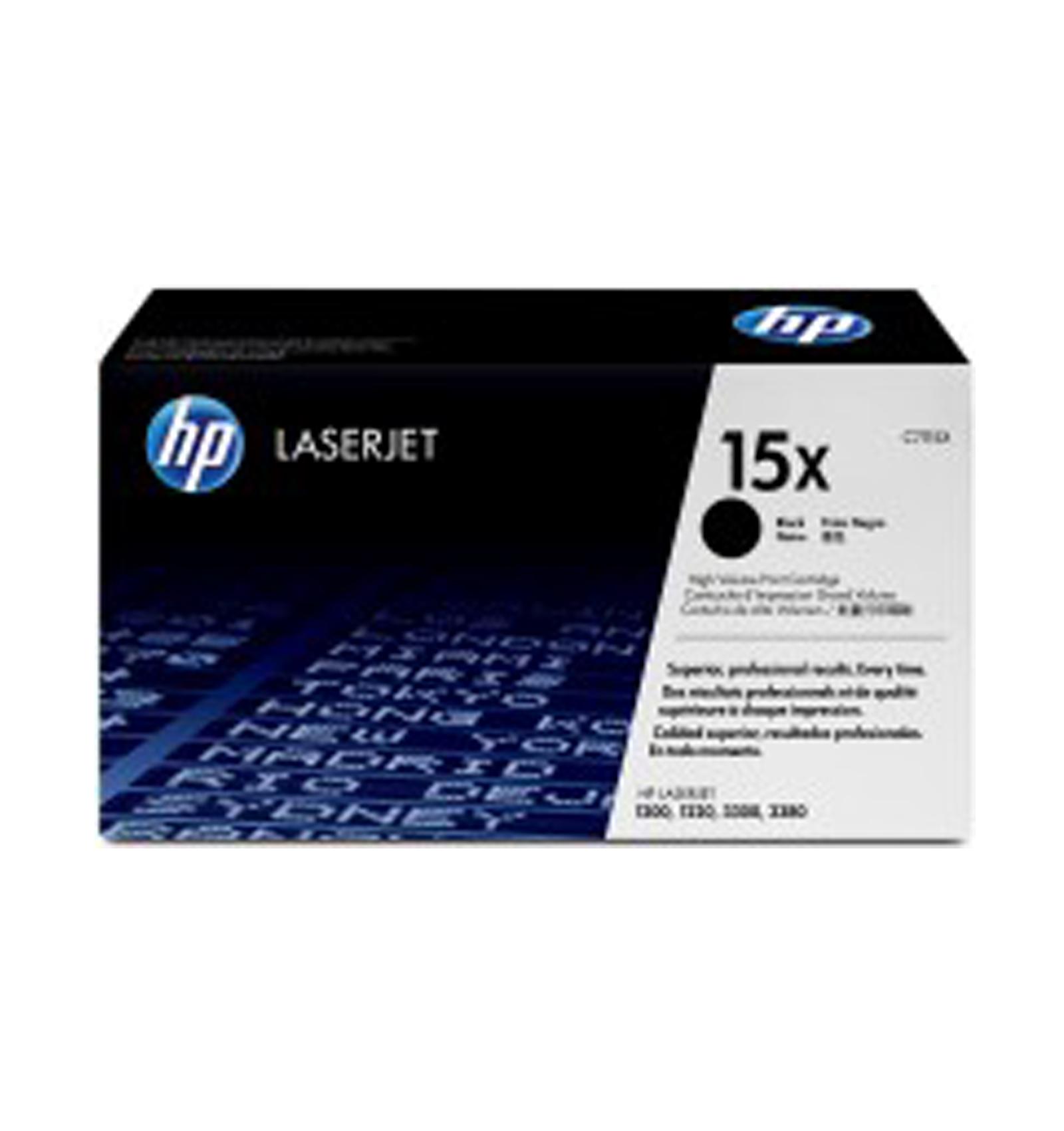 Заправка картриджей HP C7115X (15Х) для LJ 1000w/1005w/1200/1220/3300/3380