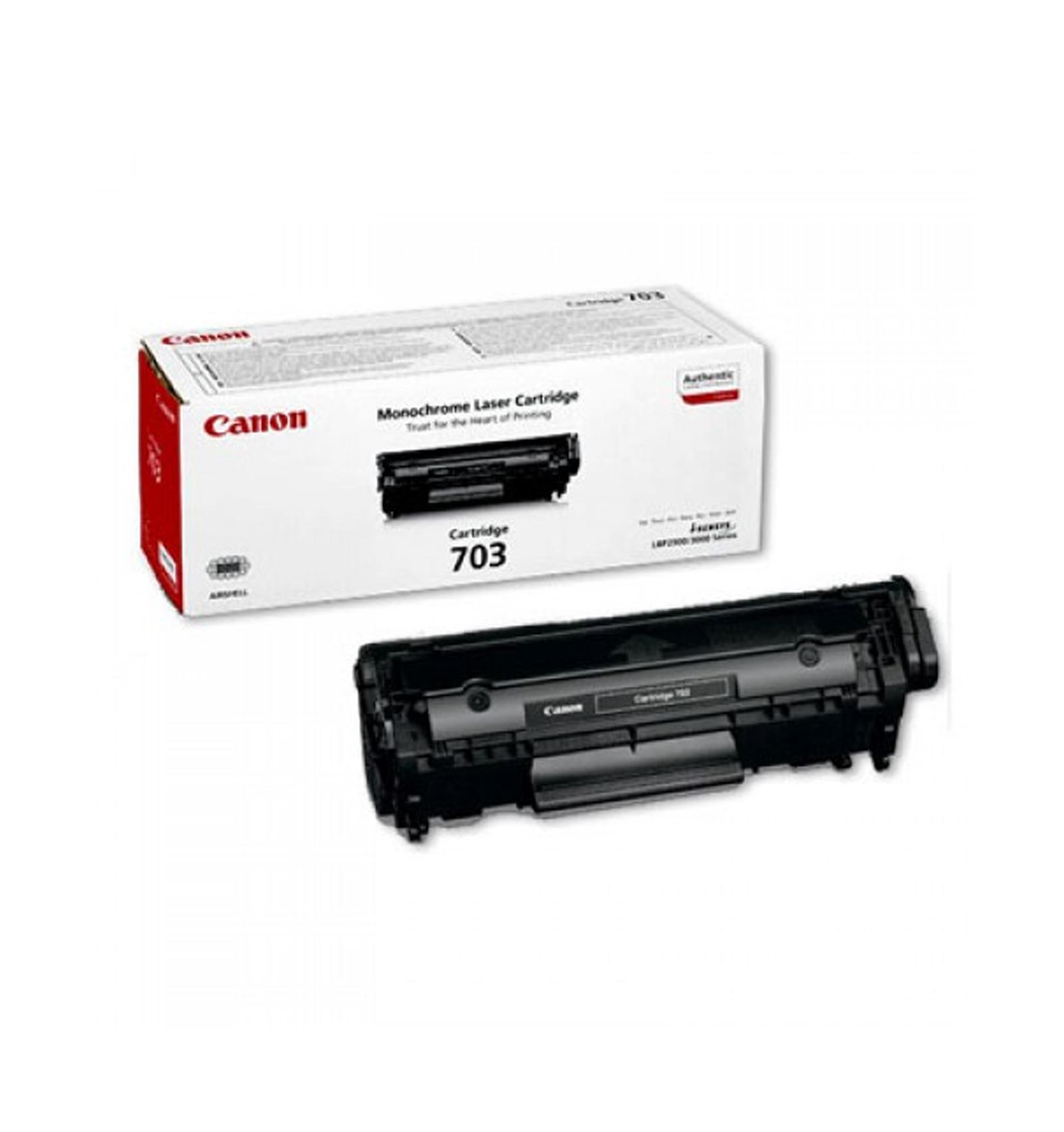 Заправка тонером картриджа Canon 703 для LBP2900/LBP3000