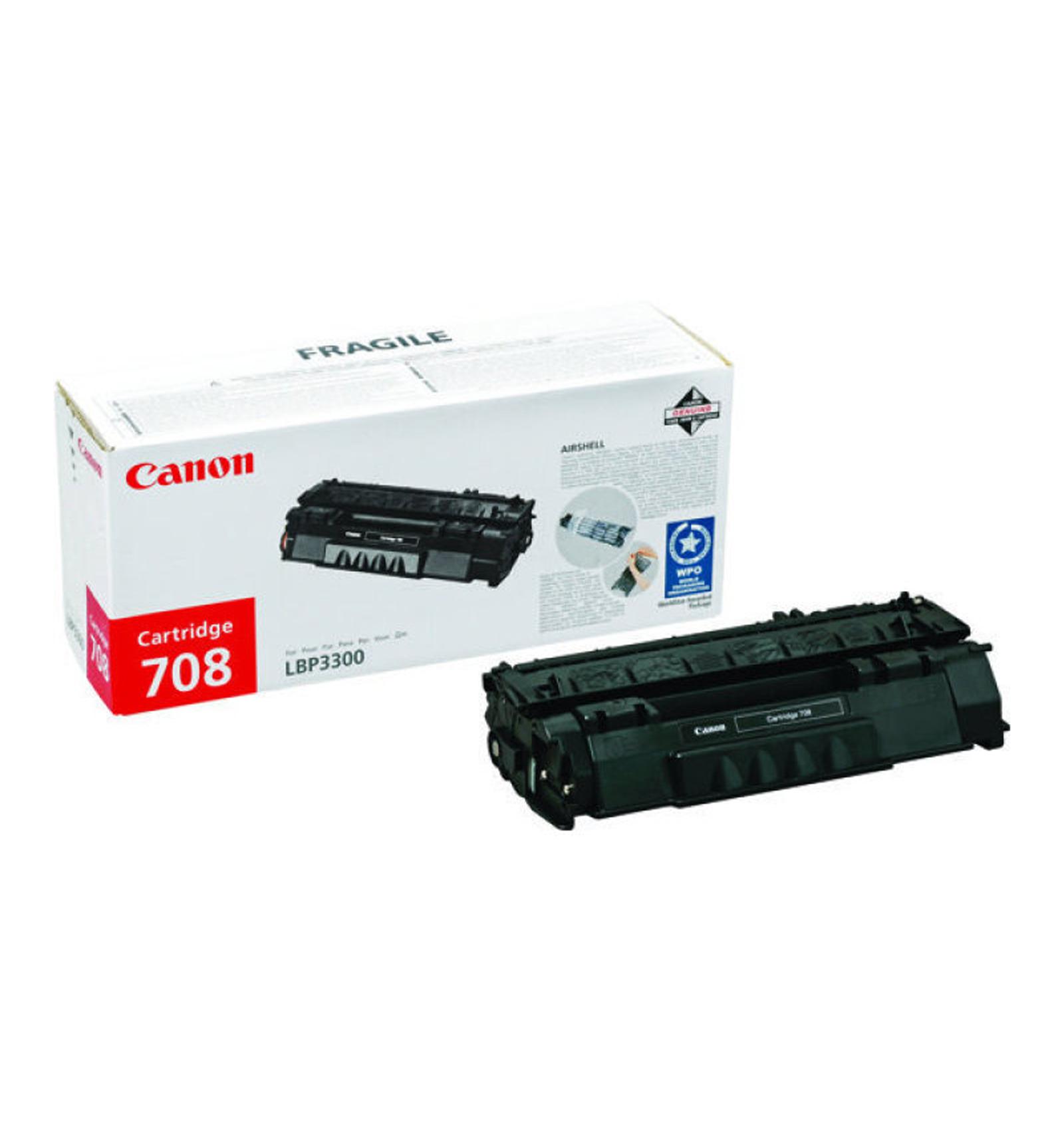 Заправка тонером картриджа Canon 708 для LBP 3300/3360