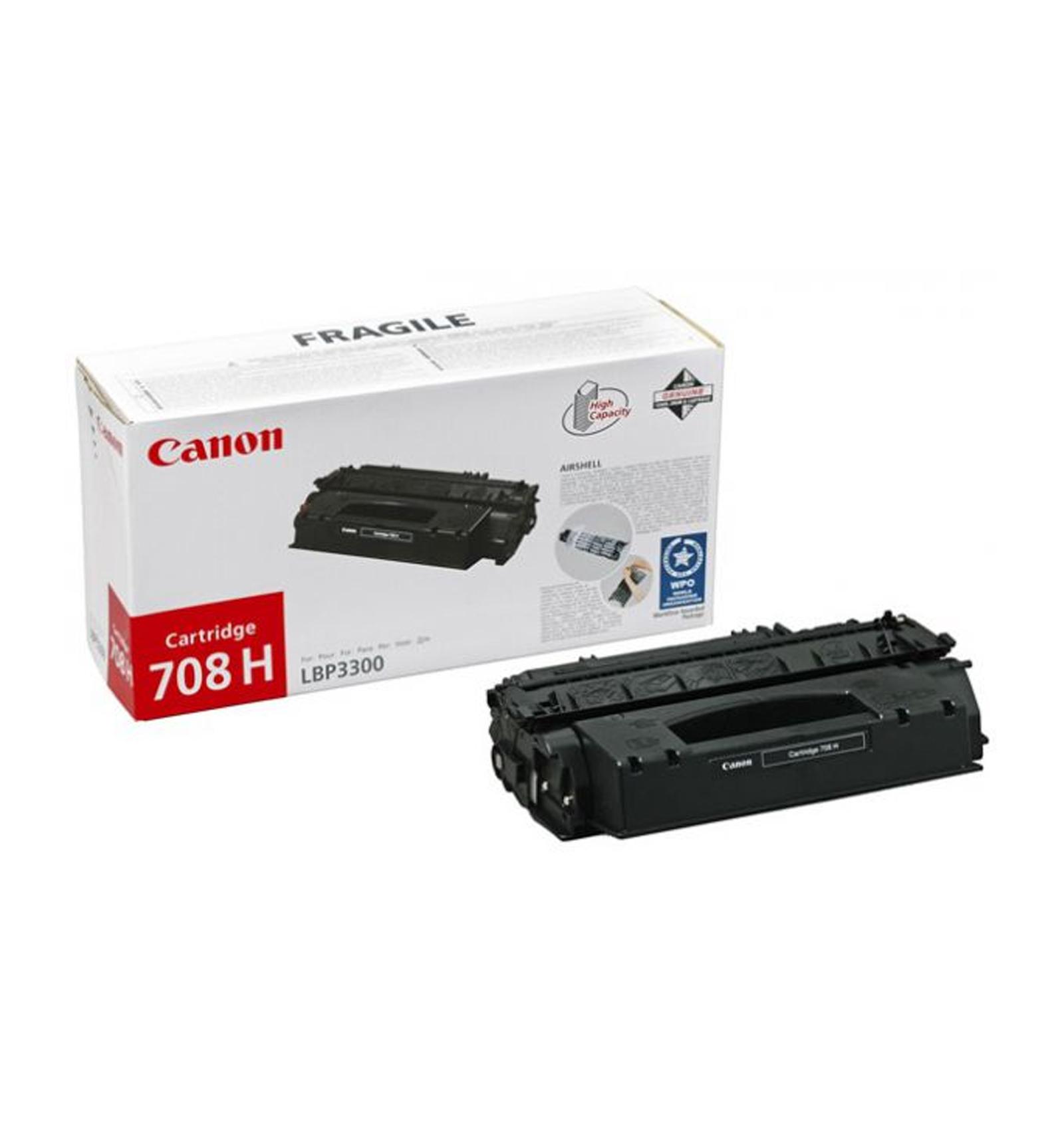 Заправка тонером картриджа Canon 708h для LBP 3300/3360