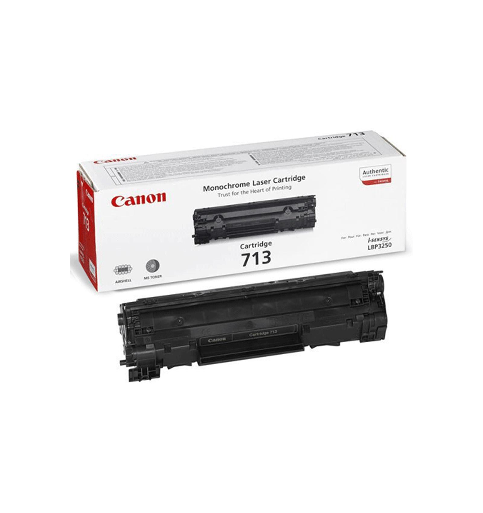 Заправка тонером картриджа Canon 713 для LBP-3250