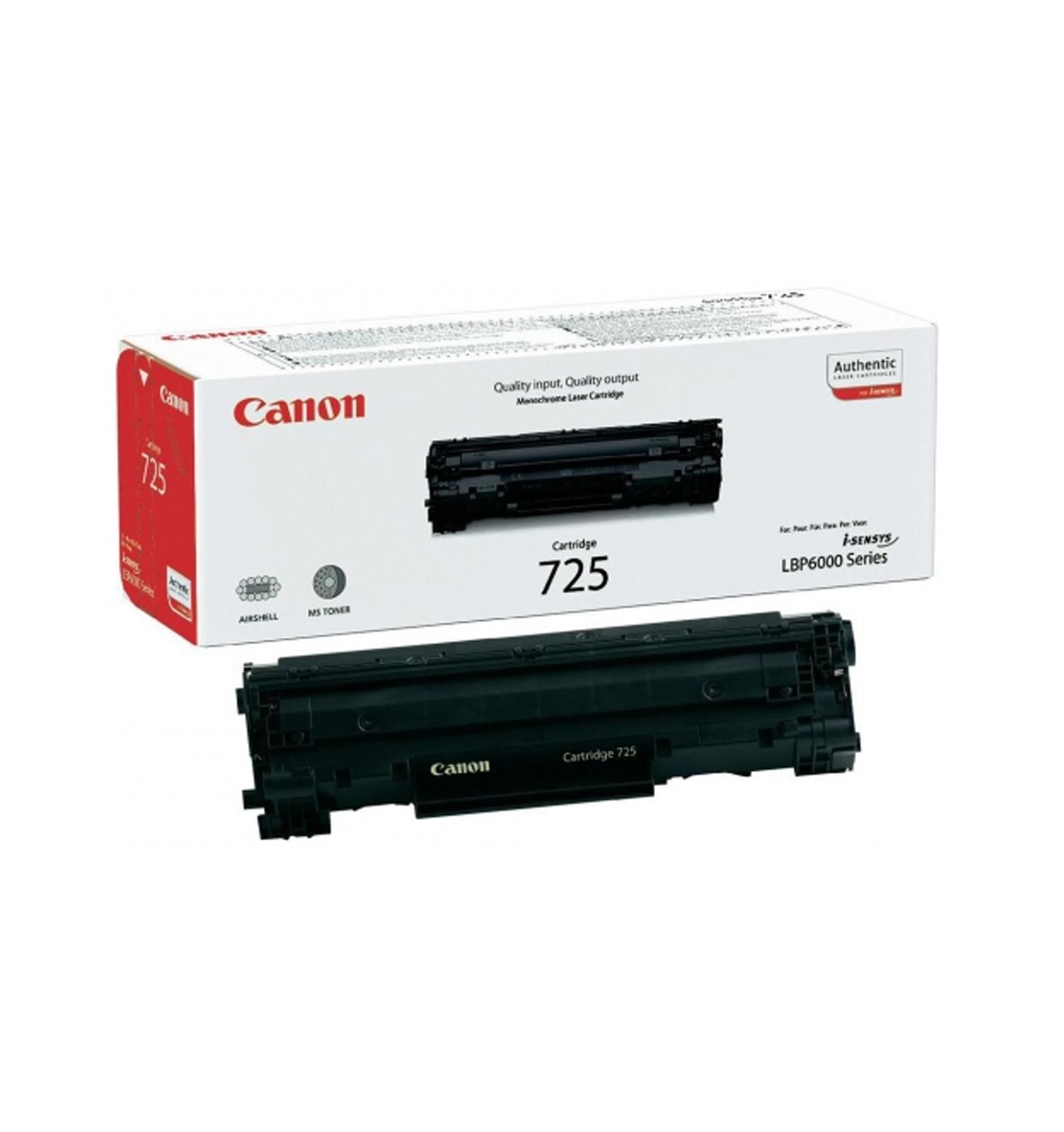 Заправка тонером картриджа Canon 725 для LBP6000/6020/MF3010