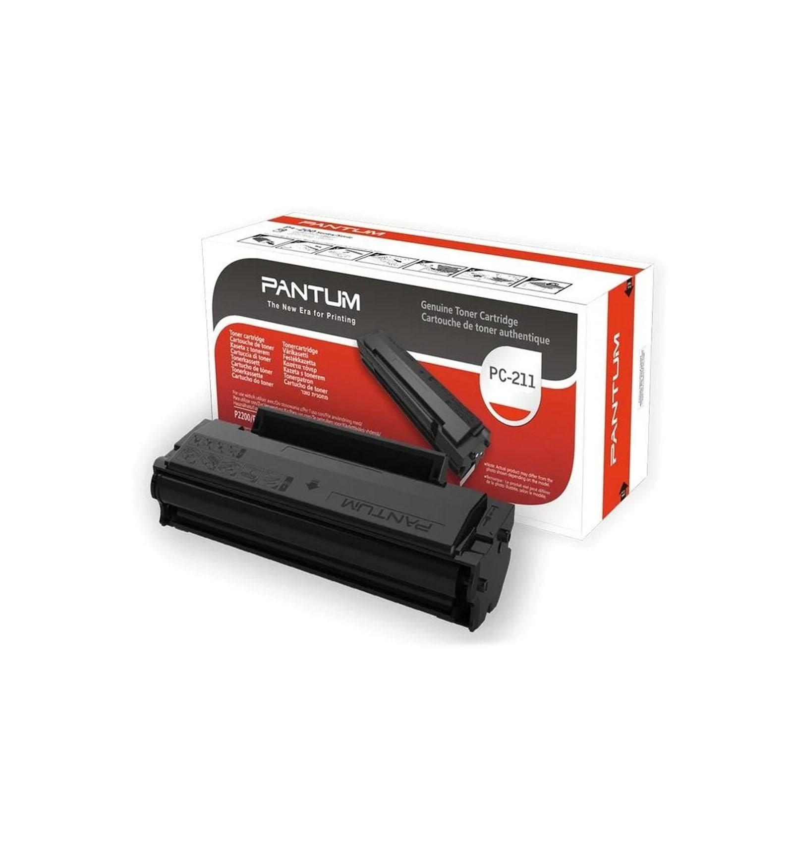 Заправка картриджа Pantum PC-211 для M6500/M6550/M6557W/M6600N/M6607