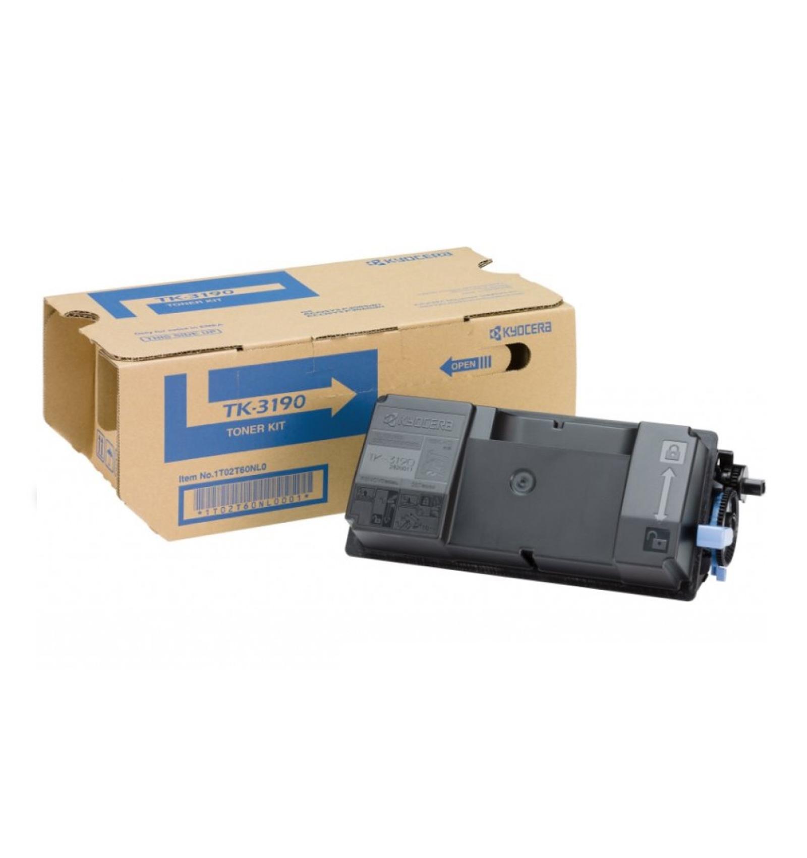 Заправка картриджа Kyocera TK-3190 для ECOSYS P3055dn/P3060dn