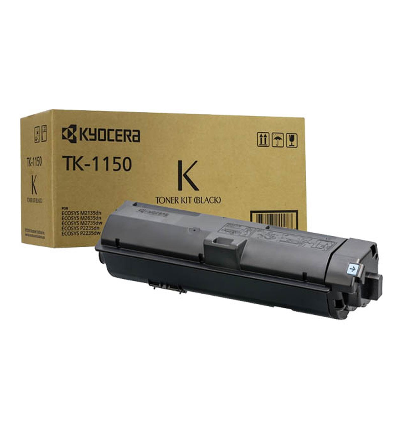 Заправка картриджа Kyocera TK-1150 для Kyocera ECOSYS M2135dn / M2635dn / M2735dw, P2235dn / P2235dw