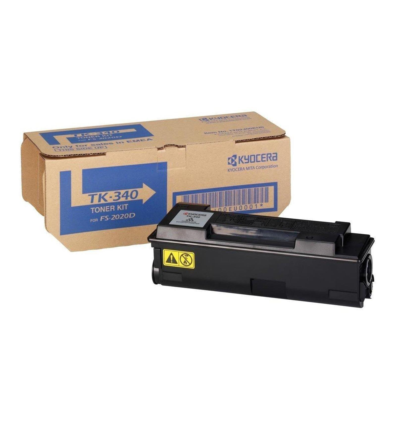 Заправка картриджа Kyocera TK-340 для FS-2020D/2020DN