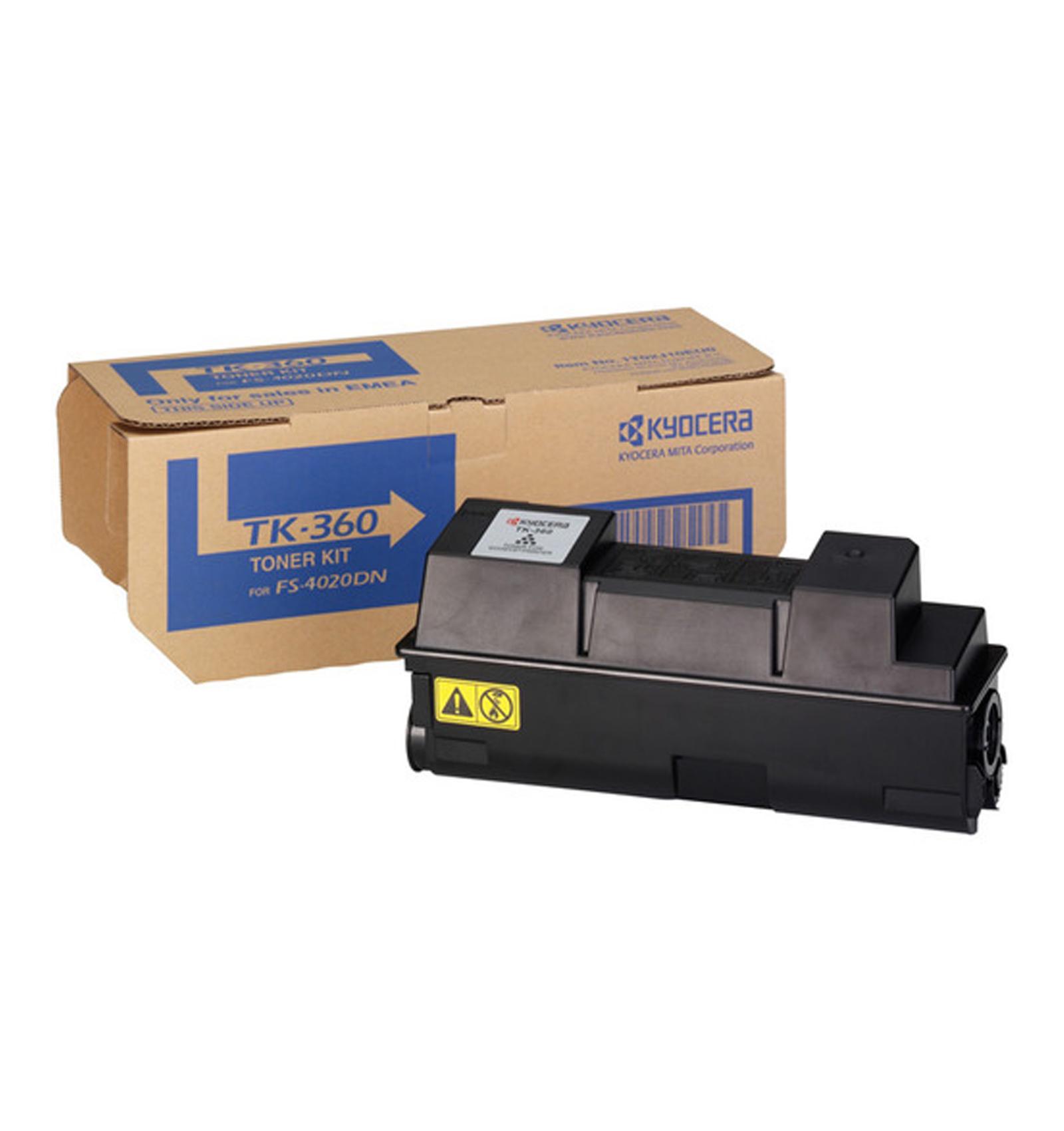 Заправка картриджа Kyocera TK-360 для FS-4020/4020D/4020DN/4020N
