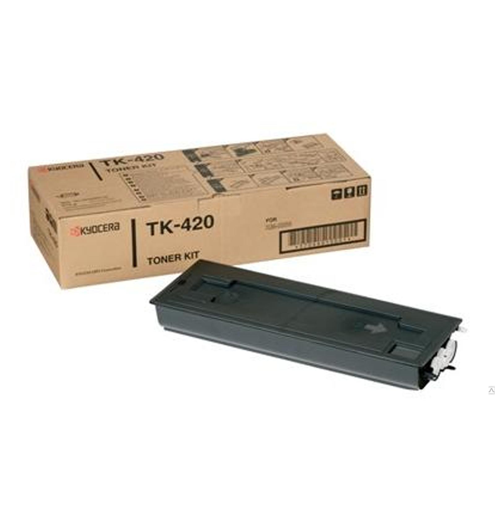Заправка картриджа Kyocera TK-420 для KM-2550/2550F/2550S